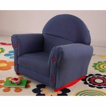 KidKraft Denim Rocker with Slip Cover