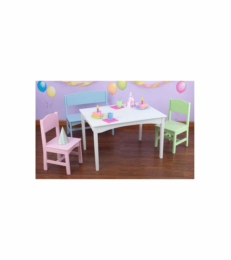 Kidkraft Table And Chairs Pastel Nantucket Images