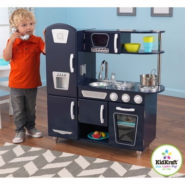 KidKraft Navy Vintage Kitchen