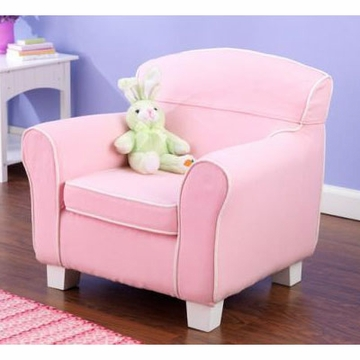 KidKraft Pink Laguna Chair with Slip Cover