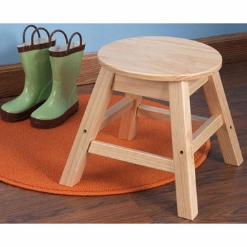 KidKraft Round Stool in Natural