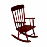Kidkraft Spindle Rocking Chair in Cherry
