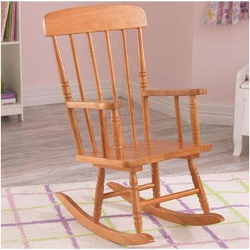 KidKraft Spindle Rocking Chair in Honey