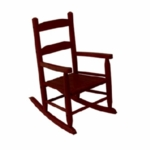 Kidkraft Two Slat Rocking Chair in Cherry