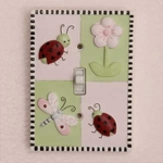 Kids Line Lady Bug Switch Plate Cover