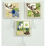 Kids Line Zanzibar Clothes Peg - Set of 3