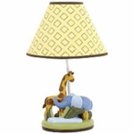 KidsLine African Dreams Lamp & Shade