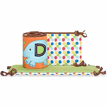 KidsLine Animal Parade Crib Bumper