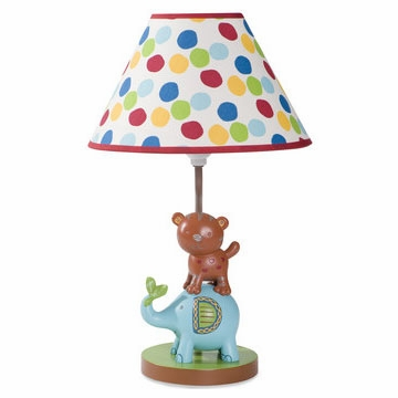 KidsLine Animal Parade Lamp Base & Shade