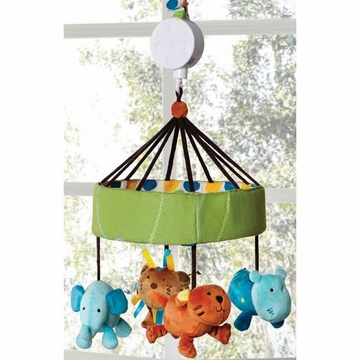 KidsLine Animal Parade Musical Mobile