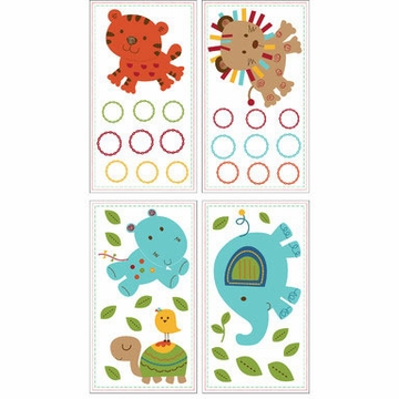 KidsLine Animal Parade Wall Decals