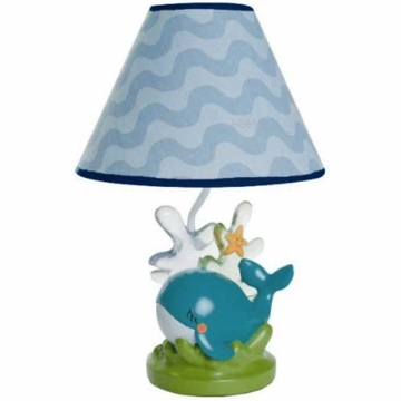 KidsLine Blue Lagoon Lamp Base & Shade