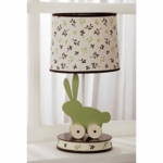KidsLine Bunny Meadow Lamp Base & Shade