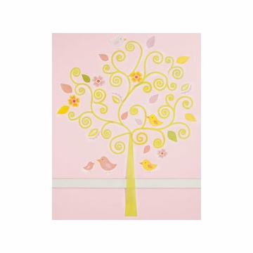 KidsLine Dena Morrocan Garden Large Wall Decal