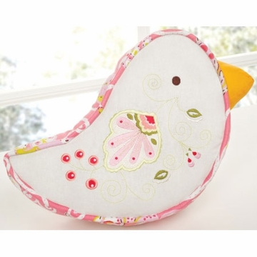 KidsLine Dena Morrocan Garden Plush Pillow - Bird