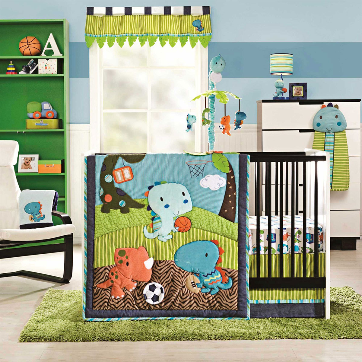 Sports Themed Baby Bedding