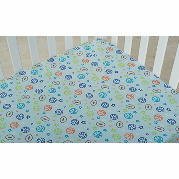 KidsLine Dino Sports Fitted Sheet