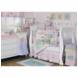 KidsLine Froggie Love 6 Piece Crib Bedding Set
