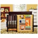 KidsLine Happy Tails 3 Piece Crib Bedding Set