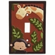 KidsLine Jungle 123 Switch Plate Cover