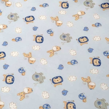 KidsLine Jungle Doodle Fitted Sheet