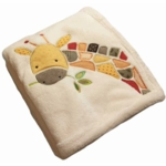 KidsLine Jungle Jigsaw Boa Blanket