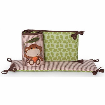KidsLine Jungle Walk Crib Bumper