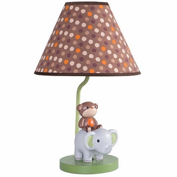 KidsLine Jungle Walk Lamp Base & Shade
