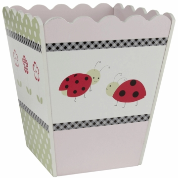 KidsLine Lady Bug Waste Basket