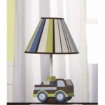 KidsLine Mosaic Transport Lamp Base & Shade
