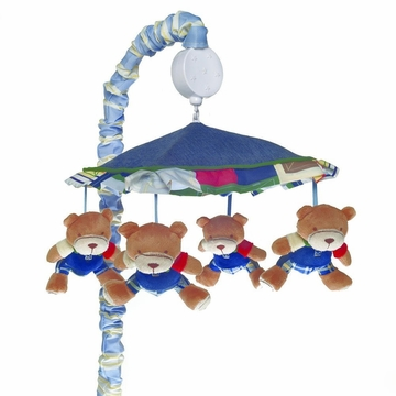 KidsLine Oxford Bear Musical Mobile
