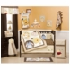 KidsLine Peek A Boo Pooh 4 Piece Crib Bedding Set