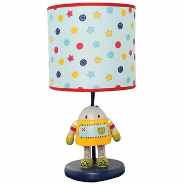 KidsLine Robots Play Lamp Base & Shade