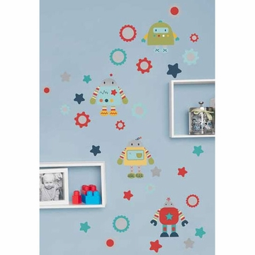 KidsLine Robots Play Wall Decals