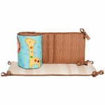KidsLine Safari Dream Crib Bumper