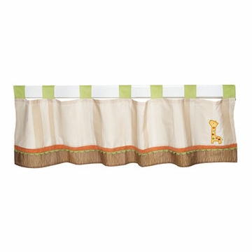 KidsLine Safari Dream Window Valance