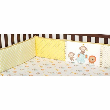 KidsLine Safari Party Crib Bumper