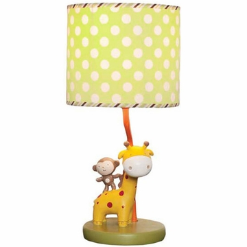 KidsLine Safari Party Lamp Base & Shade