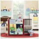 KidsLine Sail Away 6 Piece Crib Bedding Set