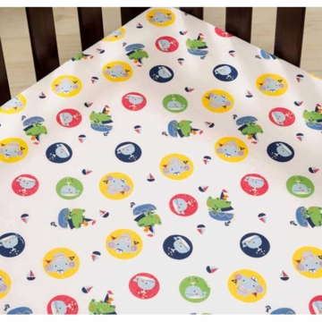 KidsLine Sail Away Fitted Sheet