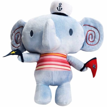 KidsLine Sail Away Plush Elephant