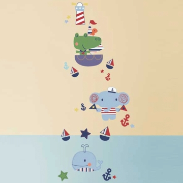 KidsLine Sail Away Wall Decals