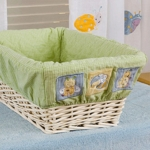 KidsLine Snug As A Bug Basket Liner