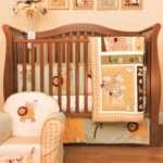 KidsLine Swazi 6 Piece Crib Bedding Set
