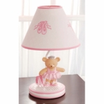 KidsLine Twirling Around Lamp Base and Shade