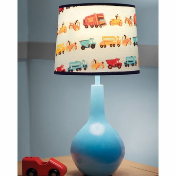 KidsLine Zutano Construction Lamp Base & Shade