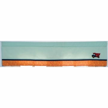 KidsLine Zutano Construction Window Valance