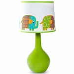 KidsLine Zutano Elephants Lamp Base & Shade