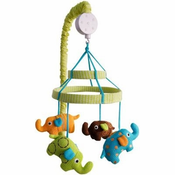 KidsLine Zutano Elephants Musical Mobile
