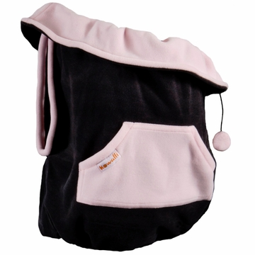 Kowalli Baby Carrier Cover - Onyx/Rose Petal Pink